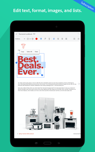 Adobe Acrobat Reader: PDF Viewer, Editor & Creator 21.2.0.17204 screenshots 14