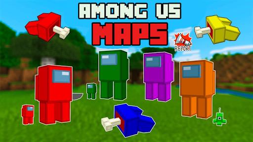 Maps Among us for Minecraft screenshots 1