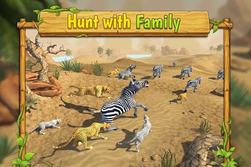 Cheetah Family Sim - Animal Simulator apktram screenshots 18