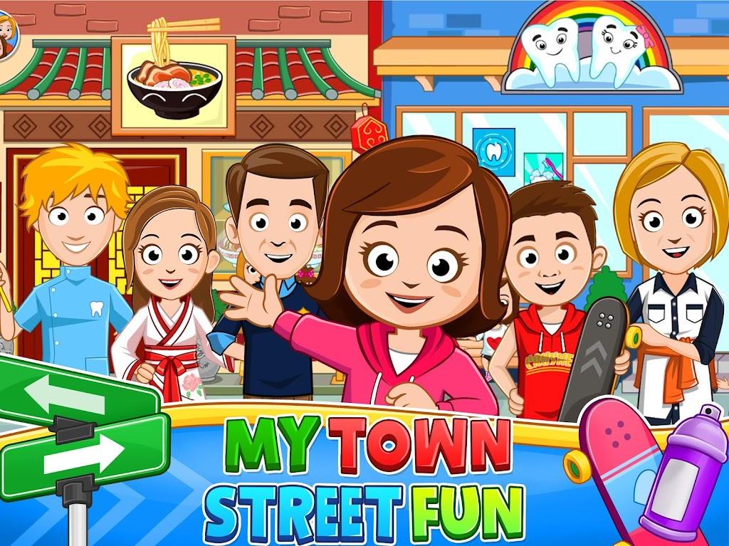 My Town : Street Fun  poster 4