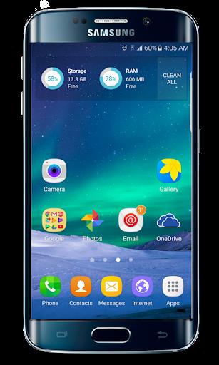 galaxy s20 launcher theme screenshot 2