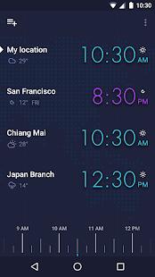 GLOBE: World clock and widget