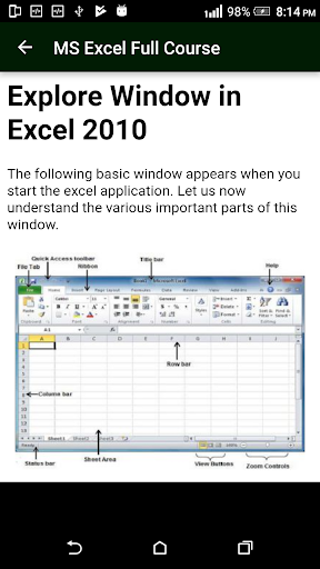 Learn MS Excel (Basic & Advance Course) screenshots 2