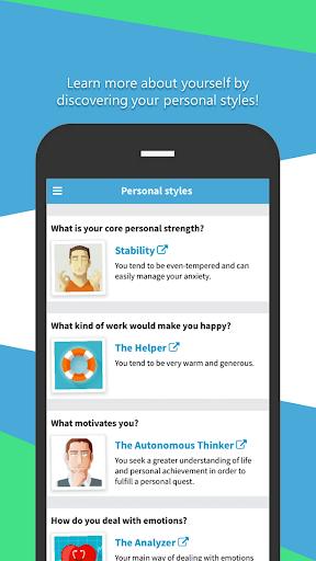 Praditus Personality Test screenshot 3