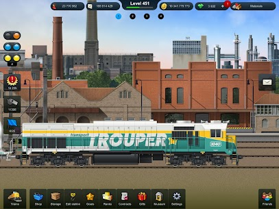 TrainStation Game On Rails Mod Apk 1.0.79 (Unlimited Money) 3