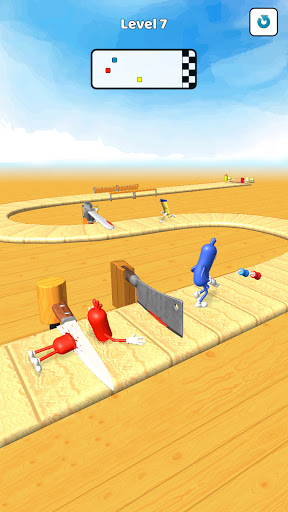 Wacky Sausage Game 2021: Fun Run Game 4 screenshots 1