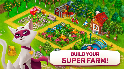 Superfarmers: happy farm & heroes city building ud83cudf3b android2mod screenshots 6