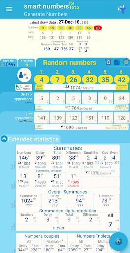 smart numbers for toto(singapore) screenshot 2