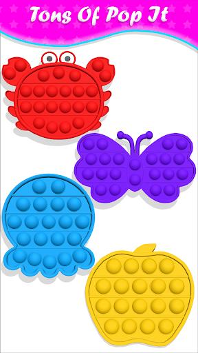 pop it Fidget Cubes calming sounds making toys 1.0.9 screenshots 2