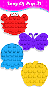 Ücretsiz pop it Fidget Cubes calming sounds making toys 4