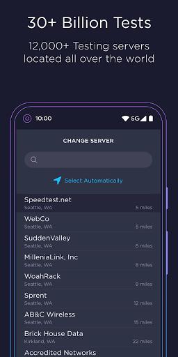 Speedtest by Ookla 4.5.32 screenshots 5