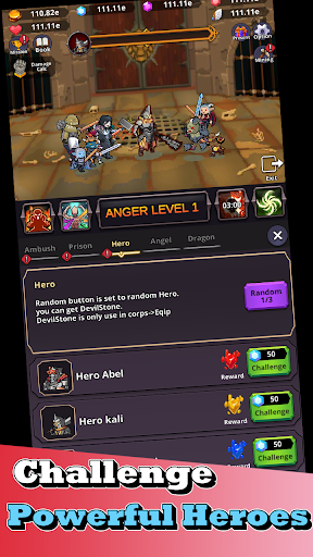 Devil Smithy : Epic Idle Merge  screenshots 5
