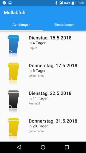 Mu00fcllabfuhr - Kalender fu00fcr Abfall und Entsorgung 2.0.28 Screenshots 1
