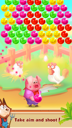 Bubble Shooter - Bubbles Farmer Game  screenshots 1