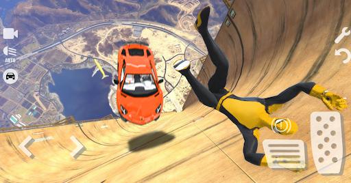 Spider Superhero Car Games: Car Driving Simulator apktram screenshots 1