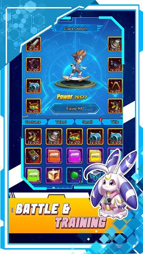 Digital Warrior: Super Evolve screenshots 3