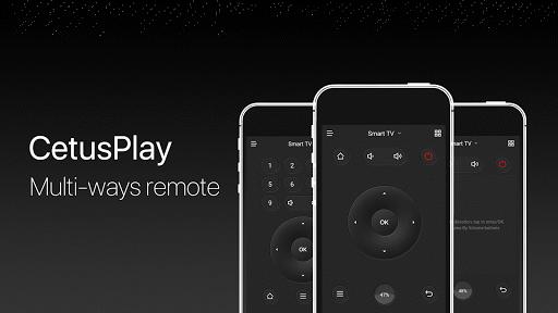 CetusPlay - TV Remote Server Receiver 4.7.8.0-For TV Screenshots 1