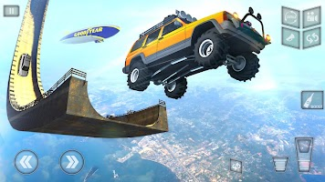 Crazy Car Stunts 2021 - Mega Ramp Stunt Car Games