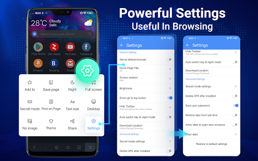 Web Browser - Fast, Privacy & Light Web Explorer 1.7.0 Screenshots 17
