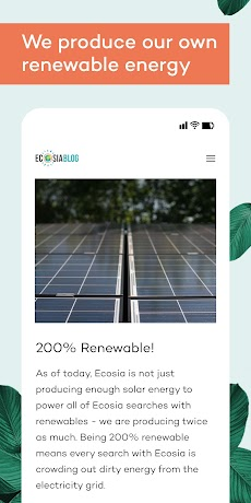 Ecosia - Trees & Privacyのおすすめ画像5