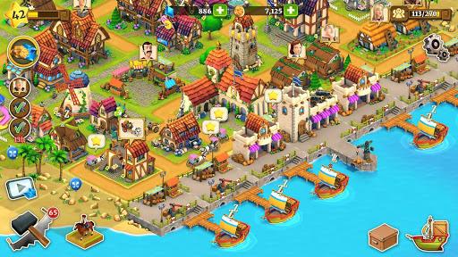 Town Village: Farm, Build, Trade, Harvest City  Paidproapk.com 5