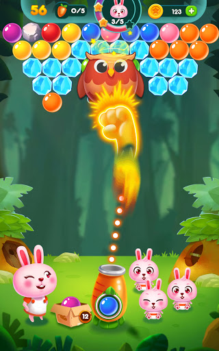 Bubble Bunny: Animal Forest Shooter apkpoly screenshots 16