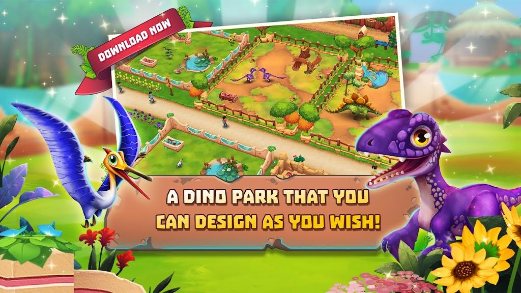 Dinosaur Park – Primeval Zoo  poster 1