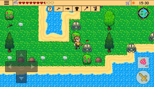 Survival RPG: Lost Treasure Adventure Retro 2d  screenshots 4