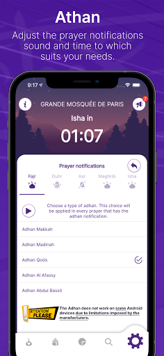 Mawaqit: Prayer times, Mosque, Qibla, Athan u0645u0648u0627u0642u064au062a apktram screenshots 5