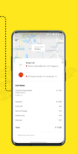 eFood - Express Food Delivery 1.6 screenshots 7