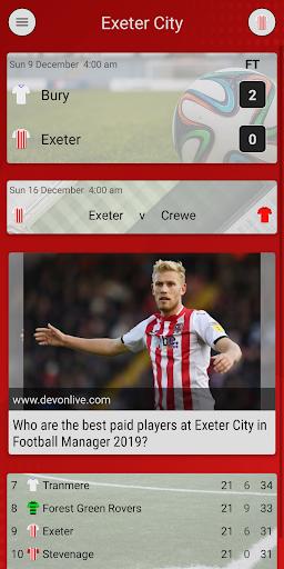 efn - unofficial exeter city football news screenshot 1