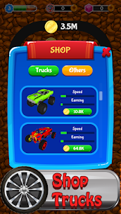 Merge Monster Car – idle miner tycoon 1.0.1022 APK + MOD (Unlocked) 2