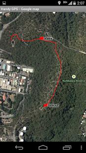 Handy GPS (free) screenshots 3