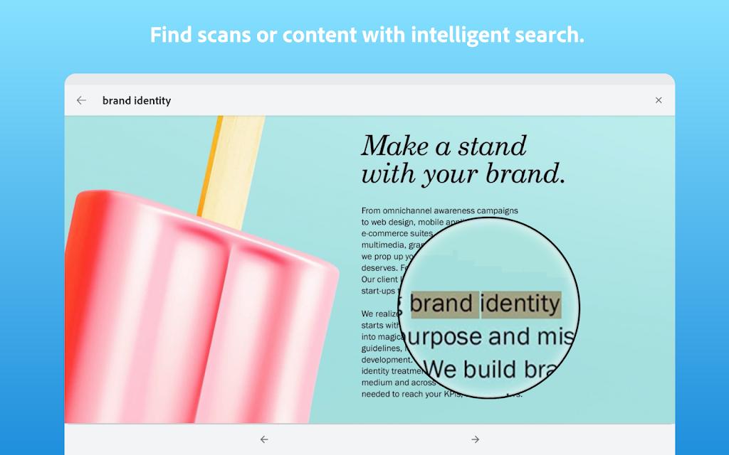 Adobe Scan: PDF Scanner with OCR, PDF Creator  poster 11