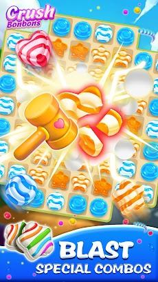クラッシュ ボンボンス ― マッチ 3 パズルゲームのおすすめ画像3