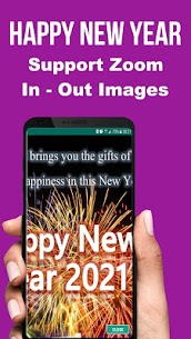 Happy New Year SMS Greeting Cards 2021 Apk Download 5