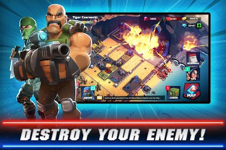 G.I. Joe: War On Cobra - PVP Strategy Battle Screenshot