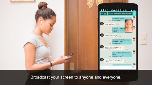 Mirrativ: Live-streaming with JUST a smartphone  screenshots 1
