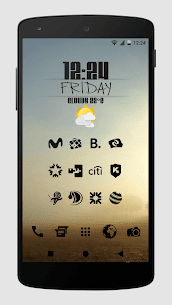 Zwart – Black Icon Pack APK Download for Android 4