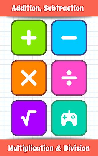 Math Games, Learn Add, Subtract, Multiply & Divide apktram screenshots 1