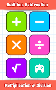 Math Games, Learn Add, Subtract, Multiply & Divide 10.7 screenshots 1