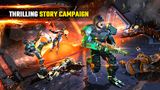 SHADOWGUN LEGENDS – FPS and PvP Multiplayer games Online Hack Android & iOS 3