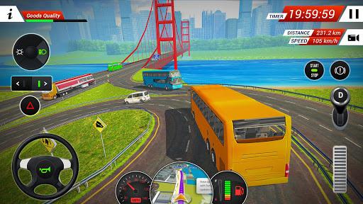 Coach Bus Driving Simulator 2018 4.9 Screenshots 4
