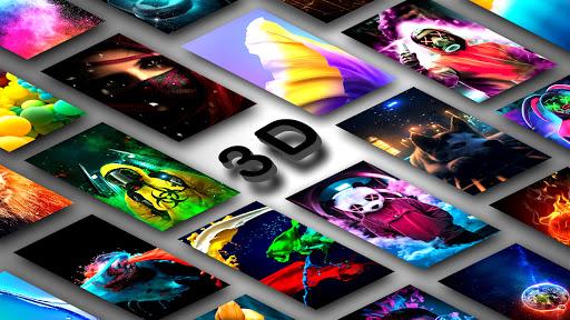 4K Wallpapers - 3D Parallax, Live & HD Background  screenshots 1