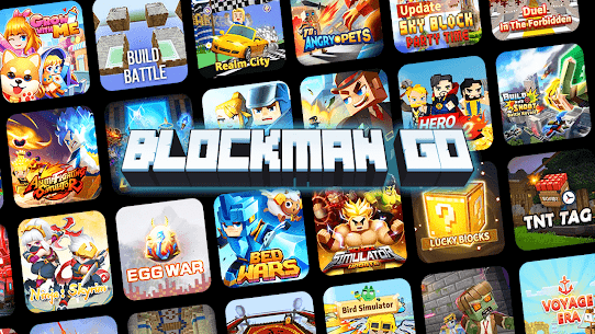 Blockman Go MOD (Unlimited Coins) 1