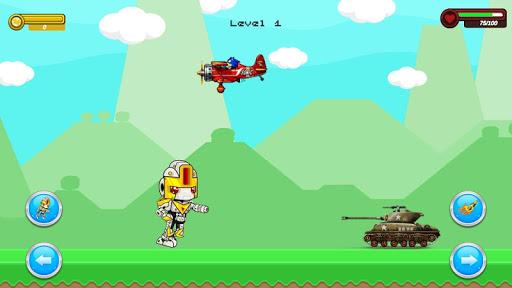 Shooter Robot : Plane , Tank Shooting  screenshots 7