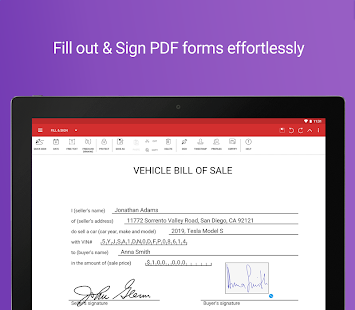 PDF Extra - Scan, View, Fill, Sign, Convert, Edit Screenshot