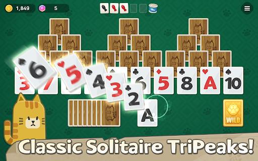 Solitaire Cat Islands  screenshots 1
