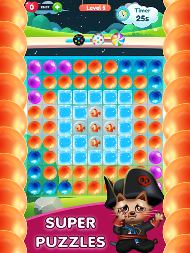 Kitty Bubble : Puzzle pop game 1.0.3 screenshots 6