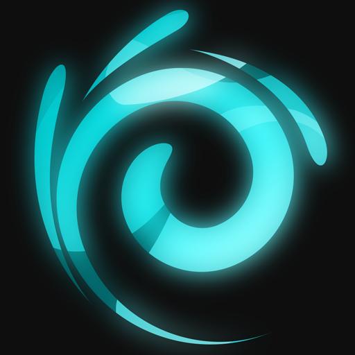 Neon Splash Icon
